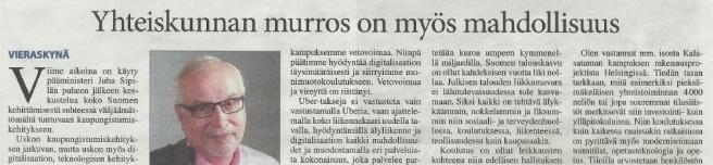 Pieksämäen Lehti_JN_kolumni